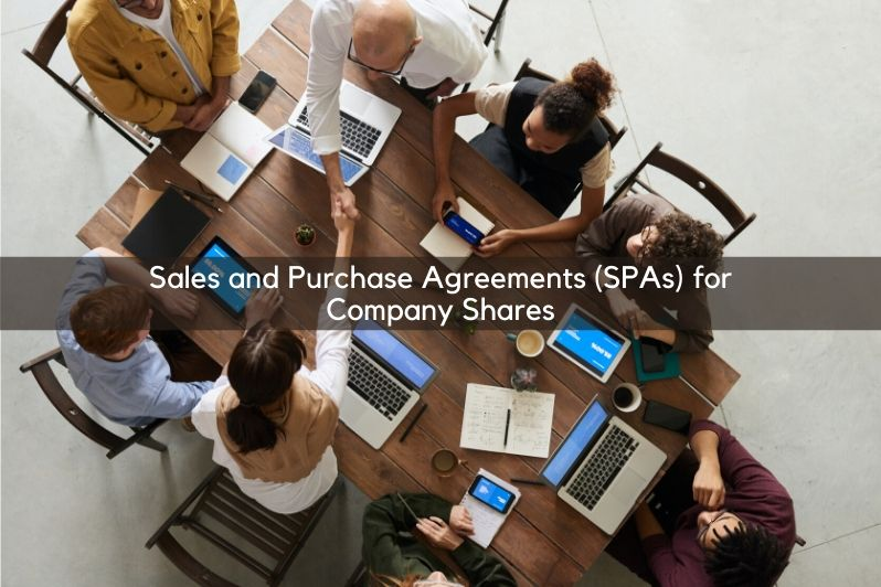 Sales and Purchase Agreements (SPAs) for Company Shares