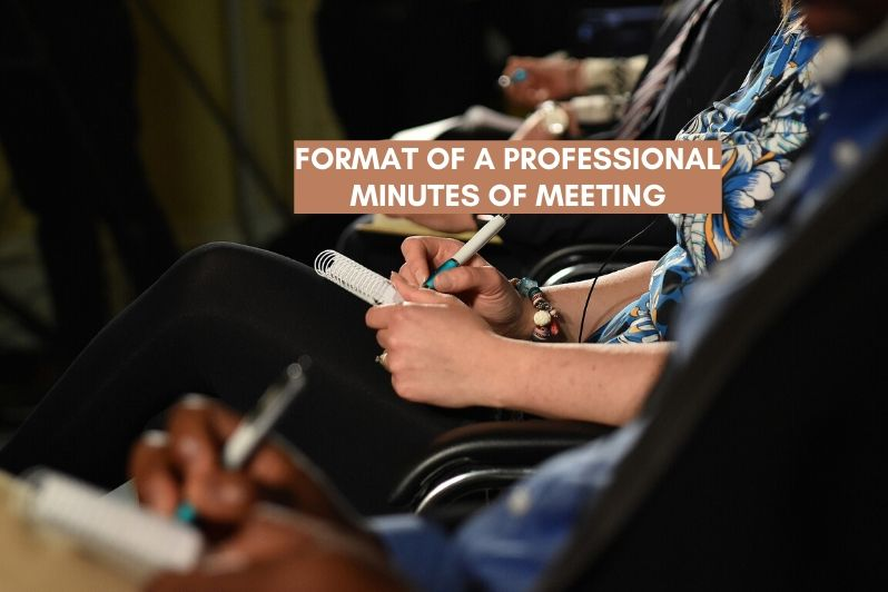 Format of a Professional Minutes of Meeting