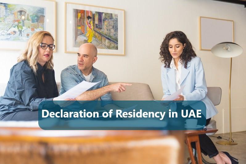 Declaration of Residency in UAE