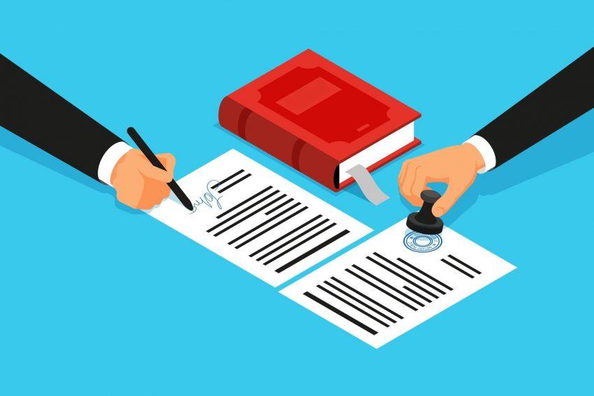 affidavit by a notary
