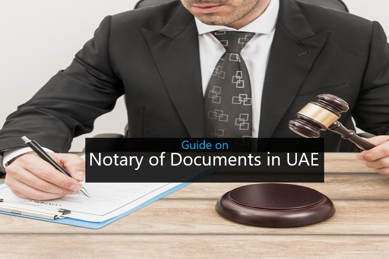 Notary of Documents in UAE