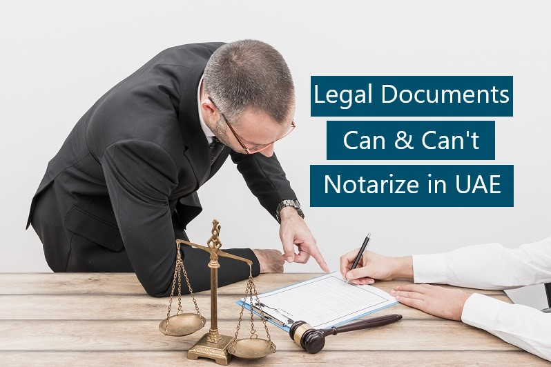 Legal Documents Notarization in UAE