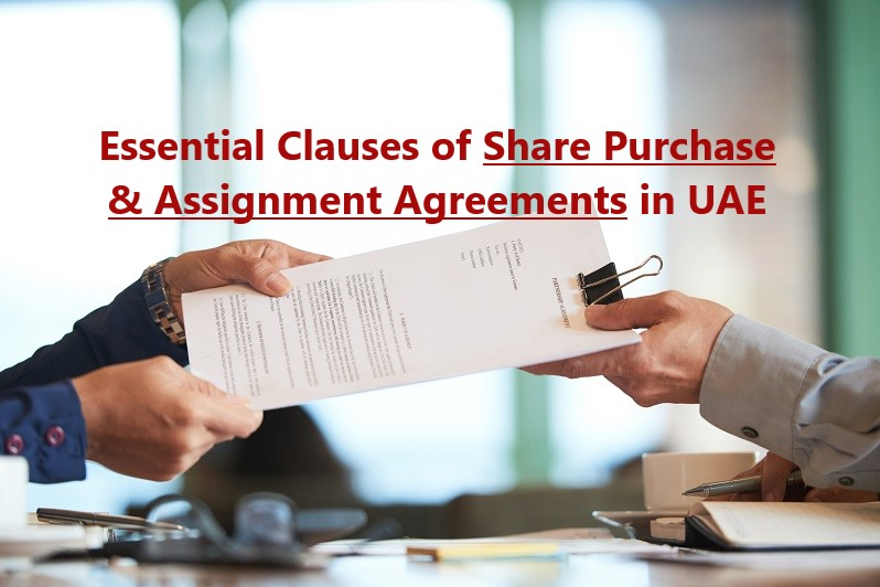 Share Purchase and Assignment Agreements in UAE