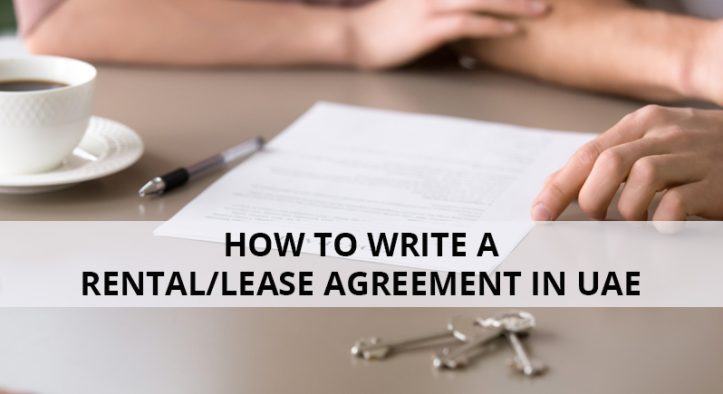 How to Write a Rental/Lease Agreement in UAE