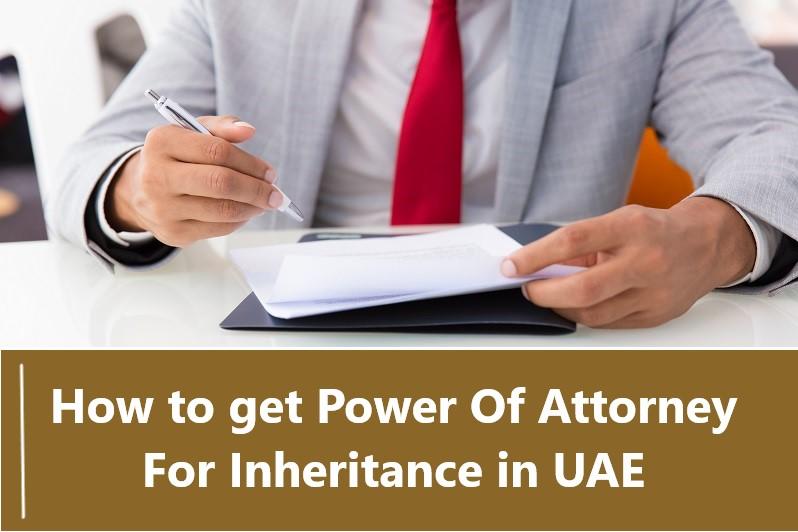 Power Of Attorney For Inheritance