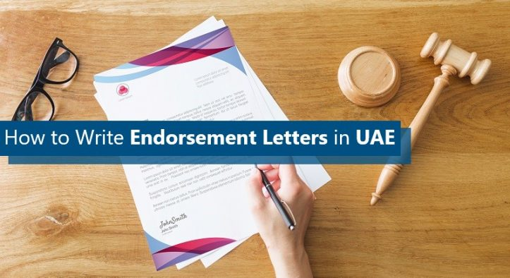 Guide on Writing Endorsement Letters in UAE