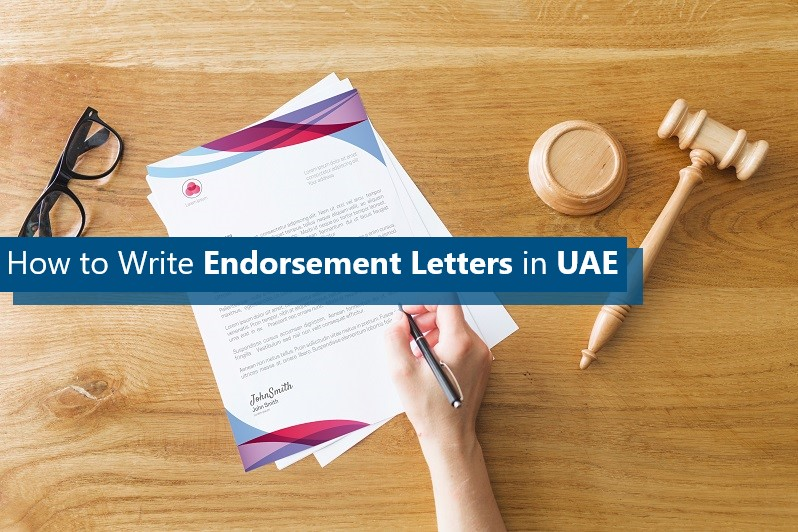 How to Write Endorsement Letters in UAE