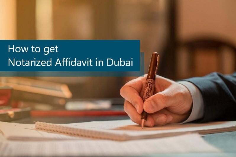 How to get Notarized Affidavit